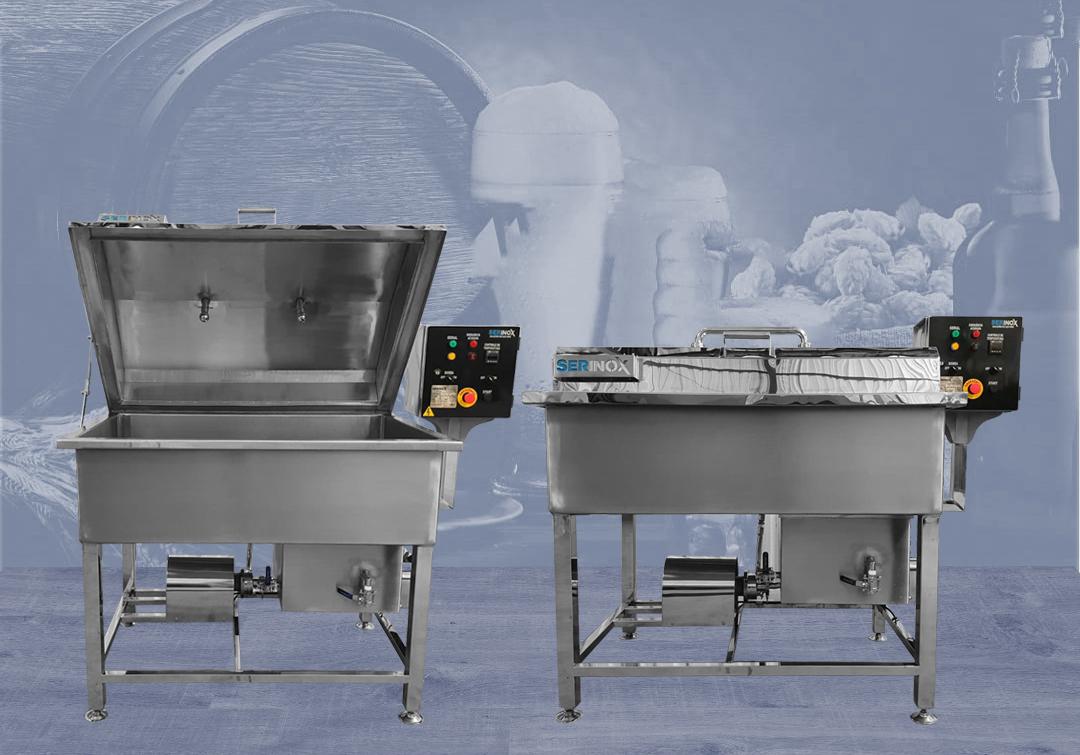 Cozinha Cervejeira Tribloco, Cozinha Cervejeira, Equipamentos para Cerveja, Pasteurizador