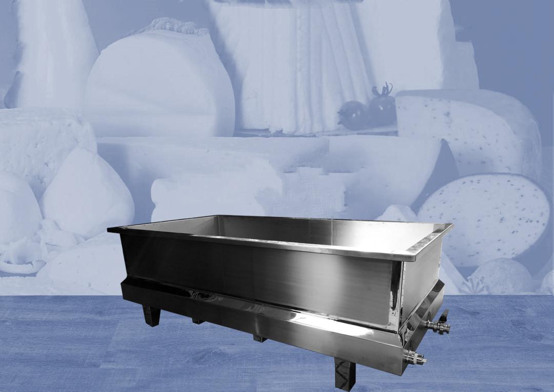 equipamentos para laticinios; tanque para queijo; tanque de fabricação