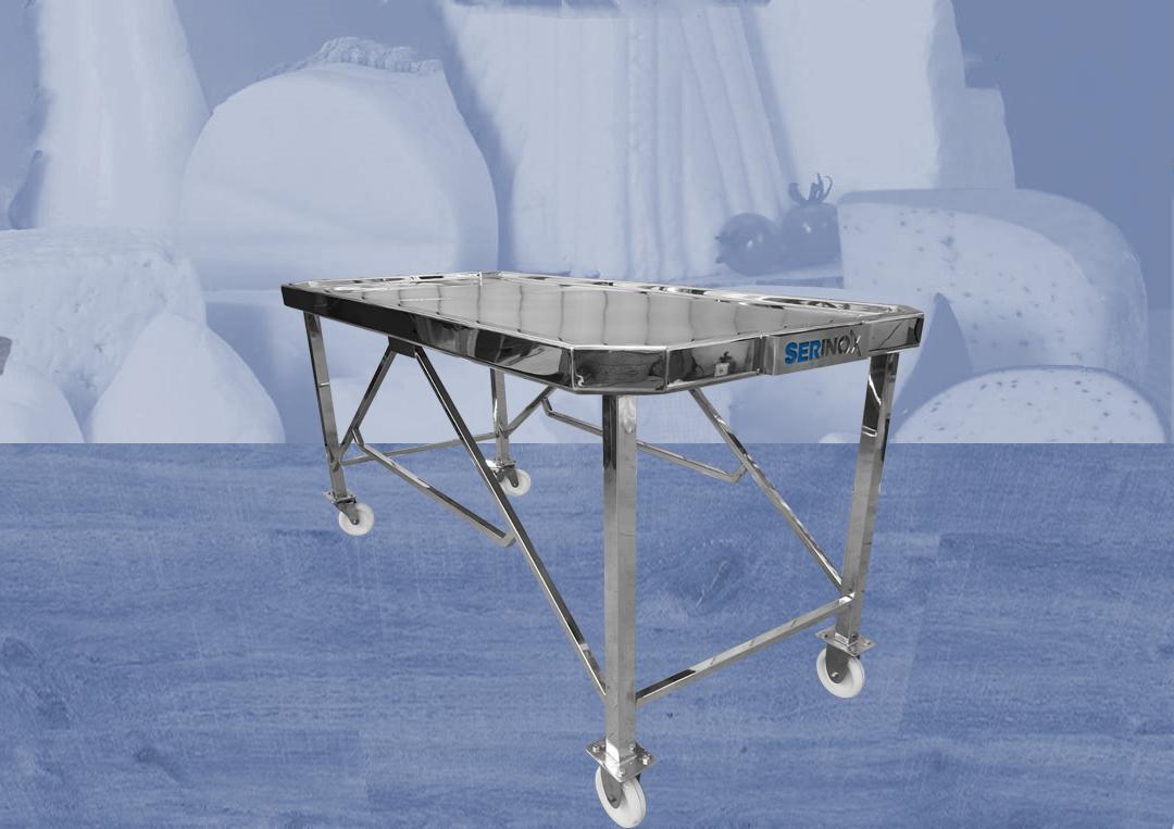 equipamentos para laticinios; mesa; mesa inox;